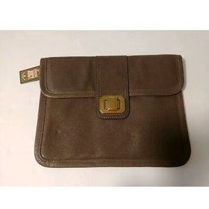 NWT Juicy Couture Leather IPad Case Clutch NWT